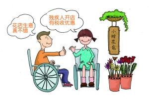 残疾人注册公司有优惠吗?